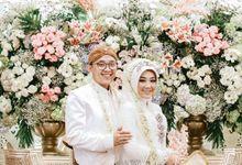 WEDDING MUTIA & HARIS by Asmoro Decoration