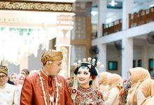 WEDDING SALMA & RIKY by Asmoro Decoration
