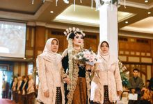 WEDDING ALFIANA & DHANY by Asmoro Decoration