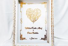 Mahar Uang Foil LM Series by Gyas Wedding