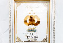 Mahar Uang Foil Akrilik Series by Gyas Wedding
