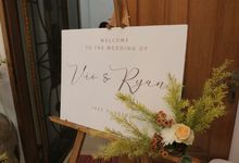 The Wedding Of Vio and Ryan by Arkarna Design