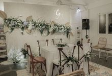 Wedding of Glee & Sabilah by Arkarna Design