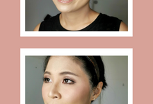 Ms Yessy Wedding Makeup Test by Febreen Makeup Studio