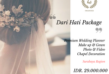 Darihati Holy Matrimony Wedding Package by darihati.organizer