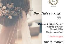 Darihati Holy Matrimony Wedding Package by darihati.organizer