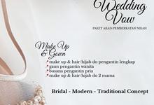 Unforgettable Wedding Vow Wedding Package by darihati.organizer