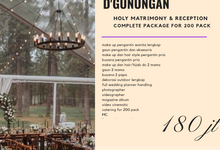 Wedding Outdoor Package by darihati.organizer