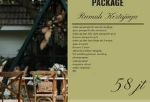 Wedding Outdoor Package Rumah Kertajaya by darihati.organizer