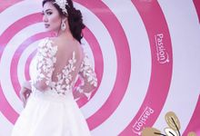 Wedding gown by Ercella Bridal