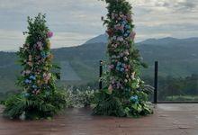 Wedding Atreya & Patricia by Flowerdecor70