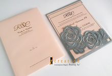 Lasercut Pocket Invitation by Icreation