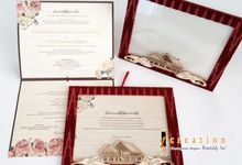 Photo frame invitations by Icreation
