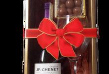 Wine Gift Set Philippines by Megabites Chocolate