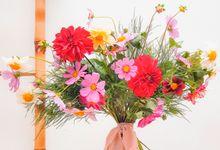 Prewedding - wedding Bouquet - FRESH FLOWERS by Odoroki Florist