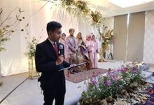 MC Wedding Sarah & Fariz by Redimasherlambang