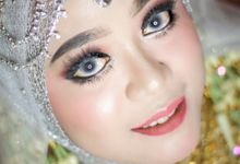 from beutiful wedding make over by Prisma Wedding