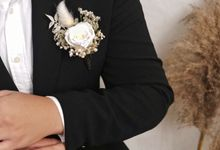 Boutonnieres & Corsages Collection by Kadi Atelier