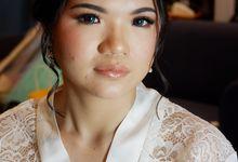 Holy Matrimony Makeup For Ms. Nia by Nike Makeup & Hairdo