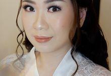 Holy Matrimony Makeup & Hairdo For Shella by Nike Makeup & Hairdo