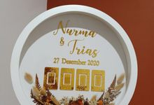 The Wedding of Nurma & Trias by Puppa Project