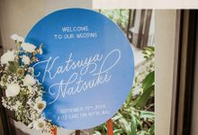 The Wedding of Katsuya & Matsuki by Bali Wedding Atelier