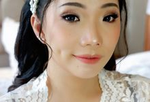 Wedding Makeup and Hairdo for Chintisya by Nike Makeup & Hairdo