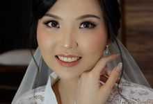 Holy Matrimony Makeup for Ms. Natalia by Nike Makeup & Hairdo