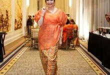 Kebaya dress by Ercella Bridal