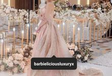 Custom Made Design Sister Gown Night Look by Barbielicious Luxury by Sally Valentine