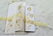 Fully Customizable Elegant Wedding Invitations by 123WeddingCards
