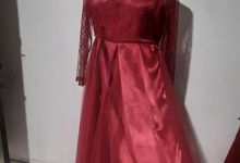 Tulle Dress With Silk Inner Custom For Ms. G by Dilona Dress