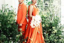 Bunga Jelitha & Syamsir Alam Anniversary by Enbloomen