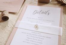 Bilal And Natalie by Vinas Invitation