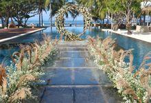Wedding Siwi & Rui 12 June 2021 by Bali Bless Florist