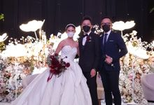 Wedding of Rey & Nadia by MC Samuel Halim