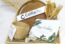 Silver Chrysanthemum Hampers by Ceiliachic