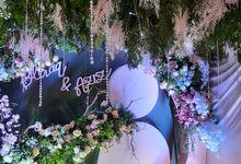 Dekor Akad Nikah Simple by HAZA WEDDING
