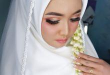 Akad Nikah syari Mba Ratna by Aiiu Makeup