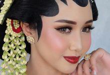 Adinda , Javanese Bride by Chindra Tansil