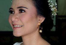 Garden Wedding - Windy by Arini Makeup Artist