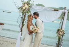 Koh Phangan - Beach Wedding at Thongtapan Resort by Phangan Weddings