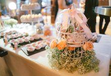 An English Garden of Desserts by Flo.Recitals