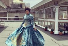 Marie Antoinette Inspired Pre-Debut for Angela by CJ Jimenez Hair and Make Up Artists Team