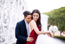 Joji & Daniel Pre-Wedding in Singapore by Suzane Calero - Professional Hair and Makeup