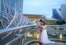 Lovely Outdoor Pre-Wedding Photoshoot by Angel Chua Lay Keng Makeup and Hair