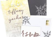 Dark grey A7 hand designed envelopes by Lovely Designs