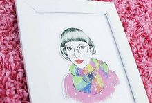 CUSTOM PAINTING by popitupcards_id