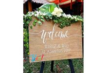 Paper Flower Decoration for Shenna - Rangga Proposal Day by Yes! Party