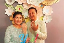 Rizka & Rio Proposal Day - Paper Flower Decoration by Yes! Party